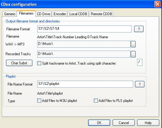 כיצד להמיר ל MP3 CDEX